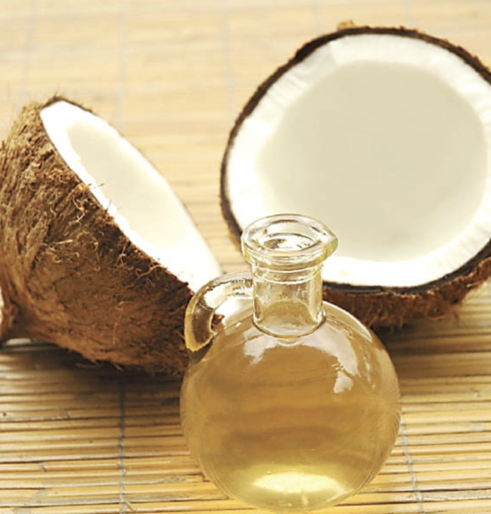 fractionated coconut oil-coconut and oil