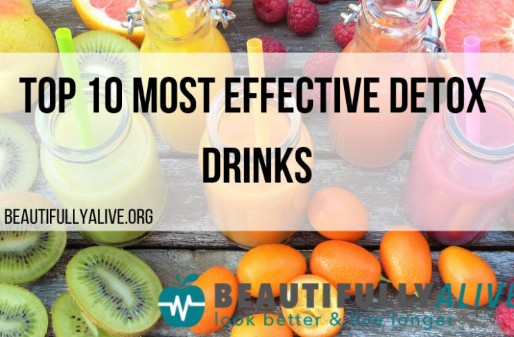 Top 10 Most Effective Detox Drinks
