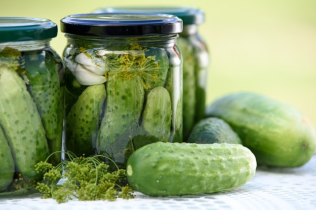 pickled cucumber