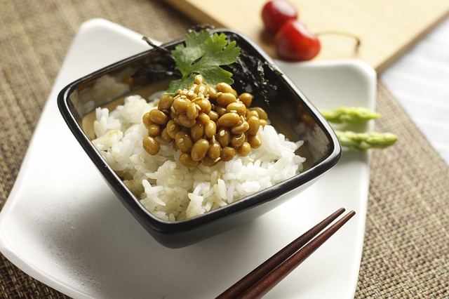 rice natto food